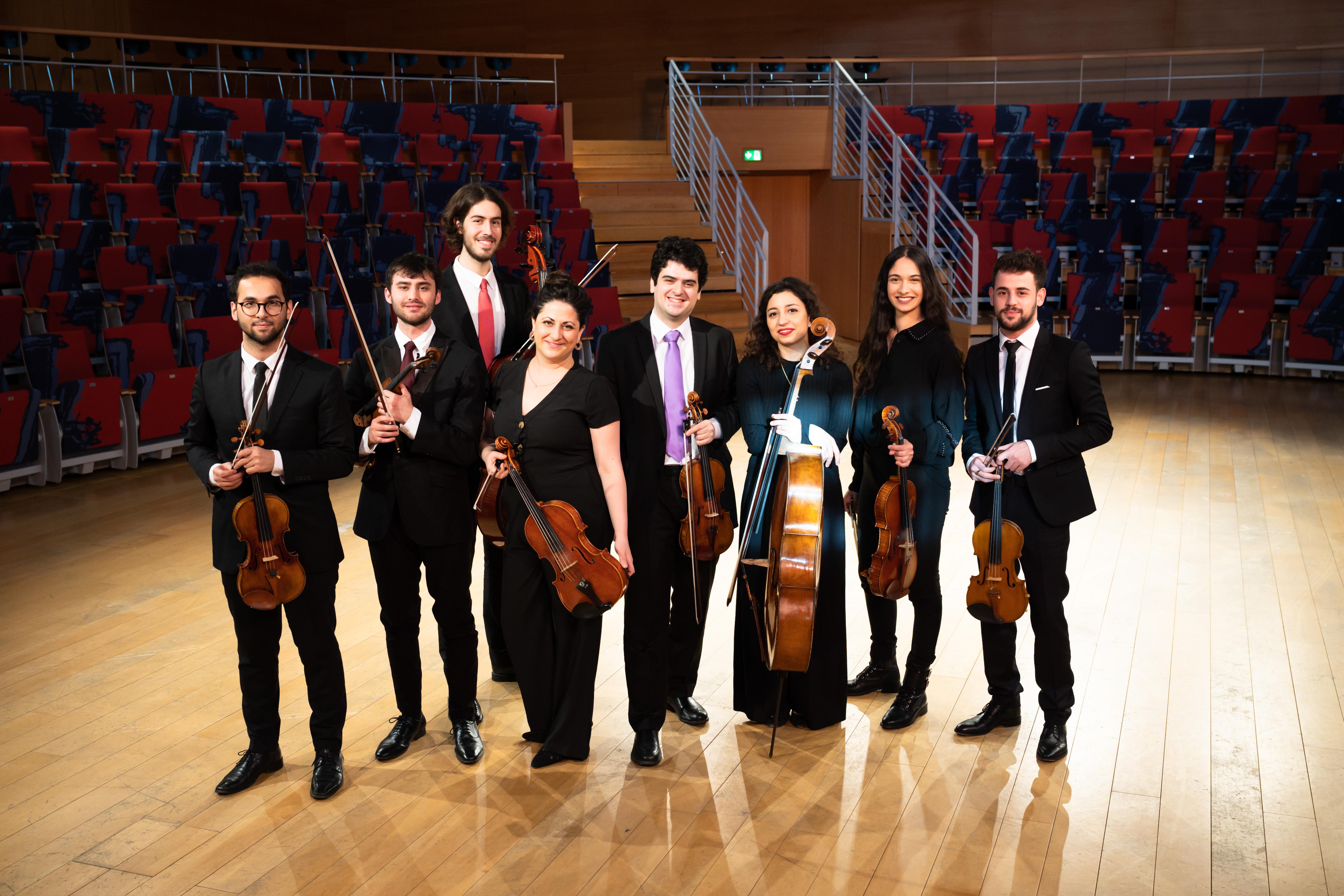 US Tour West-Eastern Divan Ensemble